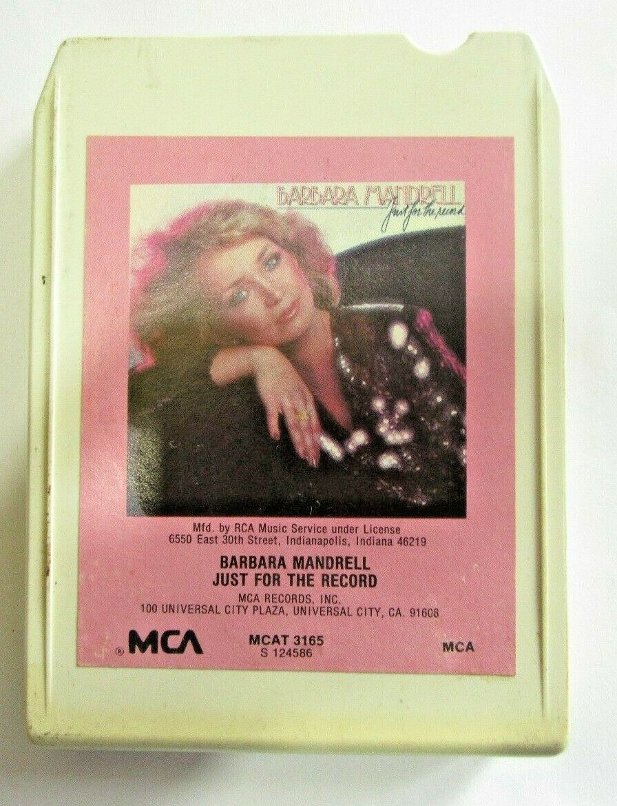 Barbara Mandrell - Just For The Record 8-Track Tape