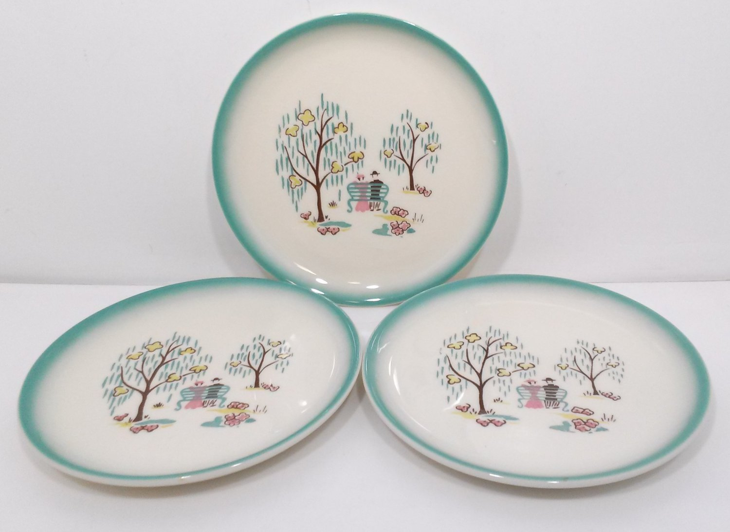 Brock Forever Yours Bread & Butter Plates 6 3/4""