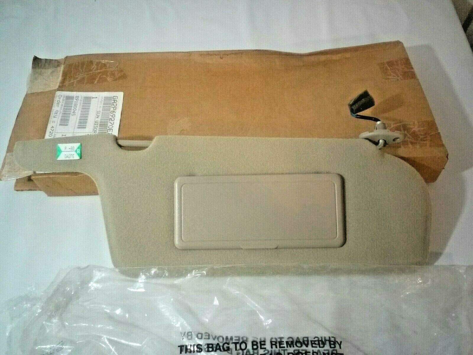 OEM Mazda GA2P-69-270E-80 Right Sun Visor NOS